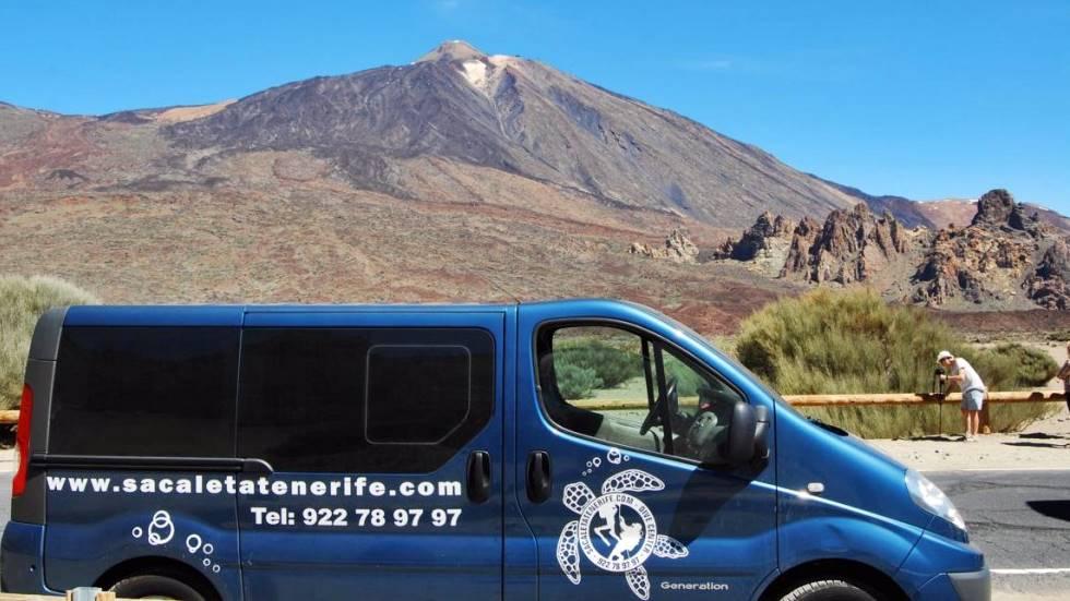 Sa Caleta Tenerife Dive Center - Vista del Teide